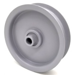 Briggs And Stratton 7023199 Simplicity 7023199 Flat Idler Pulley - 3.25'' Flat Dia. - 3/8'' Bore - Steel