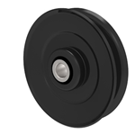Briggs And Stratton 782964 Ferris 782964 Simplicity 782964 V-Groove Idler Pulley - 3'' Dia.- 3/8'' Bore - Steel
