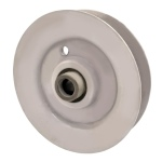 MTD 756-04209 Cub Cadet 756-04209 V-Groove Idler Pulley - 3'' Dia.- 3/8'' Bore - Steel