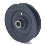 MTD 756-04325 Cub Cadet 756-04325 V-Groove Idler Pulley - 3'' Dia.- 3/8'' Bore - Steel