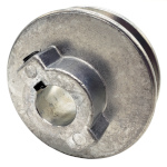 V-Groove Drive Pulley - 2.5'' Dia. - 5/8'' Bore - Die Cast