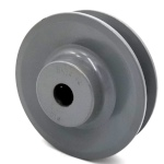 V-Groove Drive Pulley - 3.5'' Dia. - 1/2'' Bore - Cast Iron