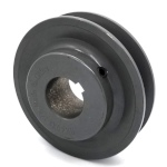 V-Groove Drive Pulley - 4.75'' Dia. - 1 1/8'' Bore - Cast Iron