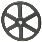 V-Groove Drive Pulley - 15.75'' Dia. - 1 5/8'' Bore - Cast Iron