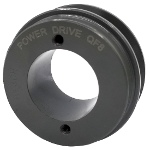 V-Groove Drive Pulley - 3'' Dia. - 1 5/8'' Bore - Cast Iron