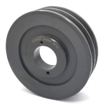 Double V-Groove Drive Pulley - 5.75'' Dia. - 1 5/8'' Bore - Cast Iron