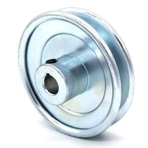 V-Groove Drive Pulley - 3.5'' Dia. - 1/2'' Bore - Steel