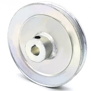 V-Groove Drive Pulley - 4.5'' Dia. - 1/2'' Bore - Steel