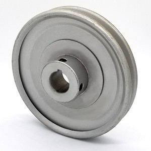 V-Groove Drive Pulley - 7'' Dia. - 7/8'' Bore - Steel