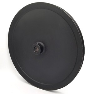 V-Groove Drive Pulley - 12'' Dia. - 3/4'' Bore - Steel