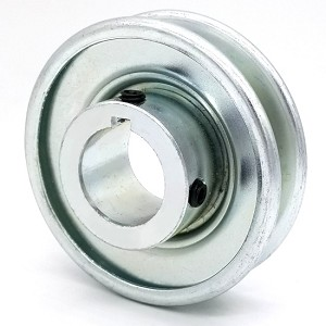 V-Groove Drive Pulley - 3.5'' Dia. - 1 1/8'' Bore - Steel