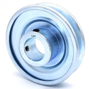 V-Groove Drive Pulley - 4'' Dia. - 1 1/8'' Bore - Steel