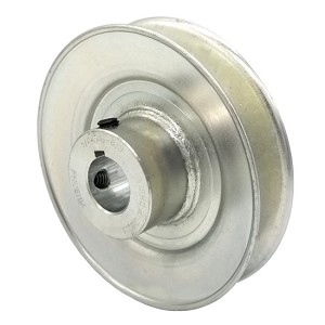 V-Groove Drive Pulley - 4'' Dia. - 3/4'' Bore - Steel
