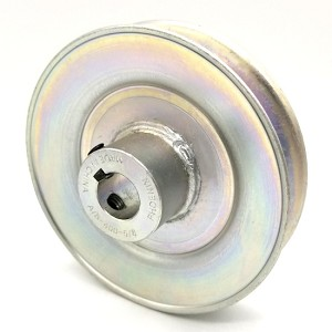 V-Groove Drive Pulley - 4'' Dia. - 5/8'' Bore - Steel