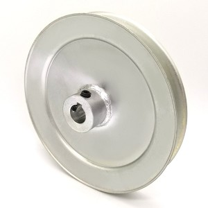 V-Groove Drive Pulley - 6'' Dia. - 5/8'' Bore - Steel