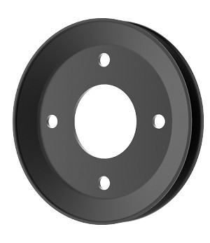 V-Groove Drive Pulley - 6.25'' Dia. - 1 3/4''+ Bore - Steel