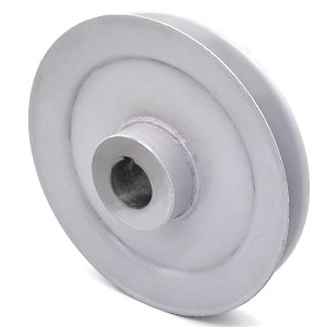 Toro 103-2791 Exmark 103-2791 V-Groove Drive Pulley - 6.25'' Dia. - 25mm Bore - Steel