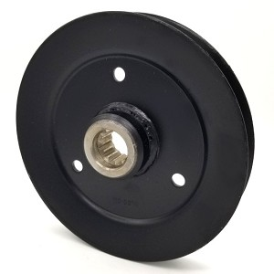 Toro 116-0674 Exmark 116-0674 V-Groove Drive Pulley - 6.5'' Dia. - Splined Bore - Steel