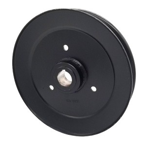 Toro 109-8251 Exmark 109-8251 V-Groove Drive Pulley - 8'' Dia. - 25mm Bore - Steel