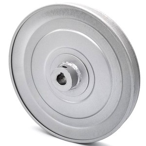 V-Groove Drive Pulley - 8'' Dia. - 5/8'' Bore - Steel