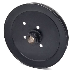 Toro 110-0892 Exmark 110-0892 V-Groove Drive Pulley - 9'' Dia. - 1'' Bore - Steel