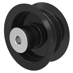 Briggs And Stratton 7026310 Simplicity 7026310 Flat Idler Pulley - 3.25'' Flat Dia. - 1/2'' Bore - Steel