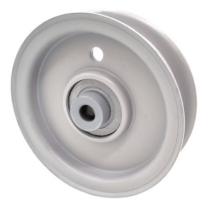 Briggs And Stratton 7018574 Simplicity 7018574 Flat Idler Pulley - 3.5'' Flat Dia. - 3/8'' Bore - Steel