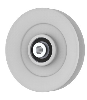 Briggs And Stratton 7018651 Simplicity 7018651 V-Groove Idler Pulley - 4.5'' Dia.- 3/8'' Bore - Steel
