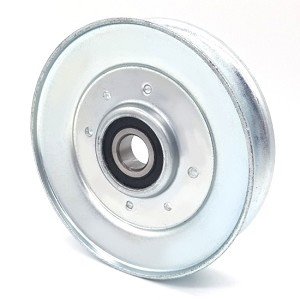 V-Groove Idler Pulley - 4.5'' Dia.- 5/8'' Bore - Steel