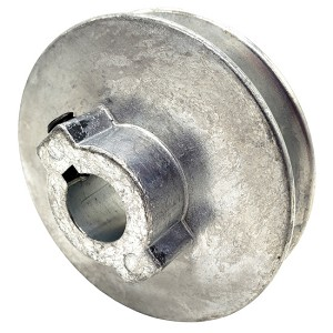 V-Groove Drive Pulley - 3'' Dia. - 5/8'' Bore - Die Cast