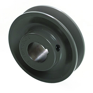 V-Groove Drive Pulley - 1.75'' Dia. - 1/2'' Bore - Cast Iron