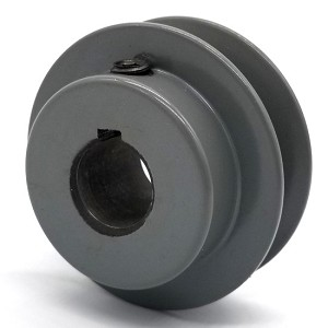 V-Groove Drive Pulley - 2.25'' Dia. - 5/8'' Bore - Cast Iron