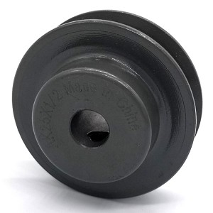 V-Groove Drive Pulley - 2.5'' Dia. - 1/2'' Bore - Cast Iron