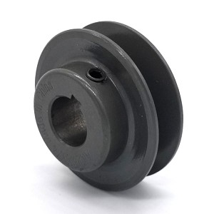 V-Groove Drive Pulley - 2.5'' Dia. - 3/4'' Bore - Cast Iron