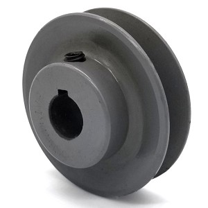 V-Groove Drive Pulley - 2.75'' Dia. - 5/8'' Bore - Cast Iron