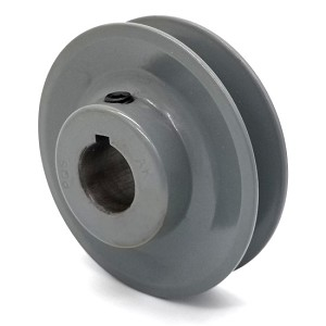 V-Groove Drive Pulley - 3'' Dia. - 3/4'' Bore - Cast Iron