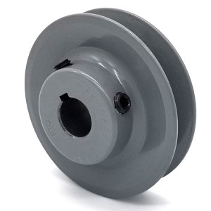 V-Groove Drive Pulley - 3'' Dia. - 5/8'' Bore - Cast Iron
