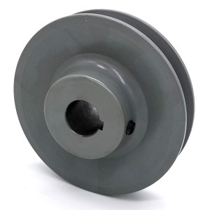 V-Groove Drive Pulley - 4'' Dia. - 3/4'' Bore - Cast Iron