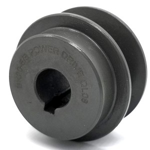 V-Groove Drive Pulley - 2'' Dia. - 5/8'' Bore - Cast Iron