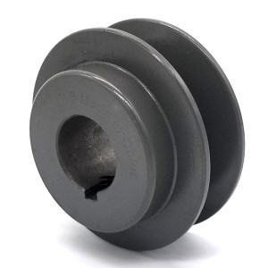 V-Groove Drive Pulley - 2.5'' Dia. - 7/8'' Bore - Cast Iron
