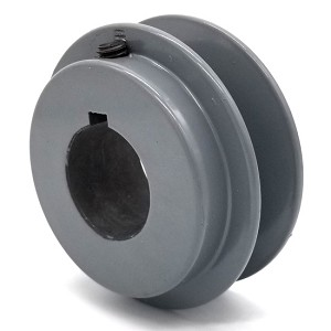 V-Groove Drive Pulley - 3'' Dia. - 1 1/8'' Bore - Cast Iron
