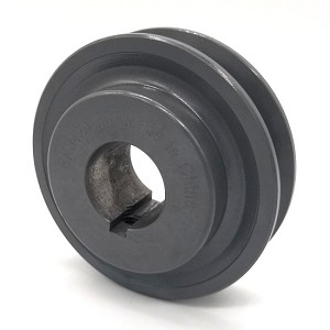 V-Groove Drive Pulley - 3.5'' Dia. - 1 1/8'' Bore - Cast Iron