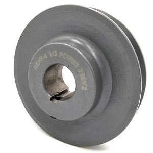 V-Groove Drive Pulley - 4.5'' Dia. - 1 1/8'' Bore - Cast Iron