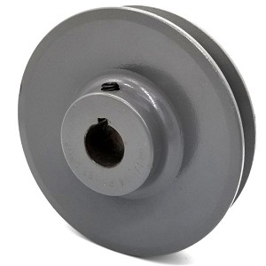 V-Groove Drive Pulley - 4.5'' Dia. - 3/4'' Bore - Cast Iron