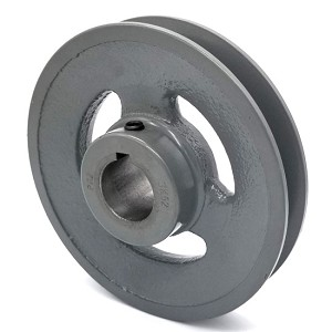 V-Groove Drive Pulley - 5'' Dia. - 1'' Bore - Cast Iron
