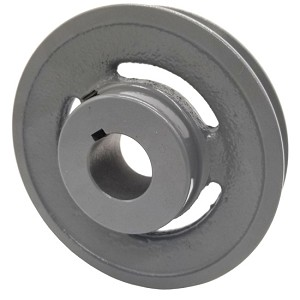 V-Groove Drive Pulley - 5'' Dia. - 1 1/8'' Bore - Cast Iron