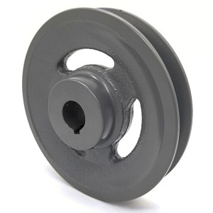 V-Groove Drive Pulley - 5'' Dia. - 3/4'' Bore - Cast Iron