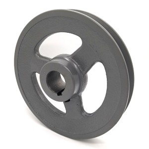 V-Groove Drive Pulley - 6'' Dia. - 1'' Bore - Cast Iron