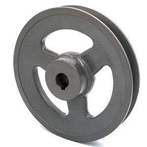 V-Groove Drive Pulley - 6'' Dia. - 5/8'' Bore - Cast Iron