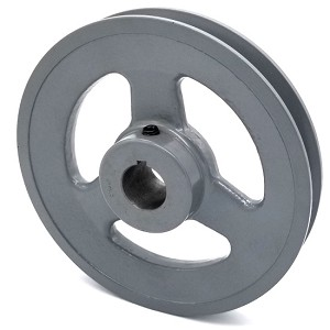V-Groove Drive Pulley - 6'' Dia. - 7/8'' Bore - Cast Iron